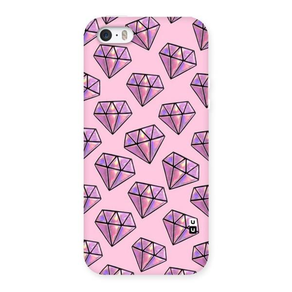 Purple Diamond Designs Back Case for iPhone 5 5S