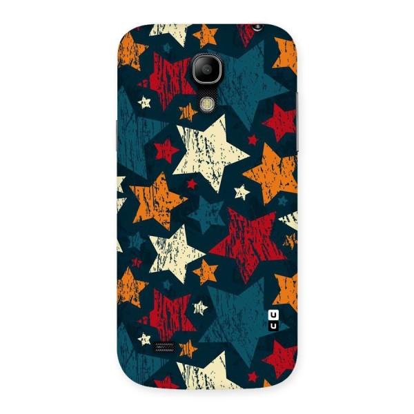 Rugged Star Design Back Case for Galaxy S4 Mini