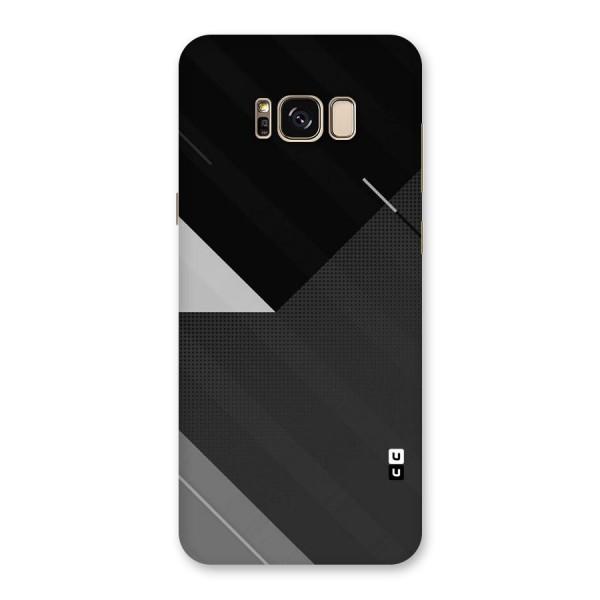 Slant Grey Back Case for Galaxy S8 Plus
