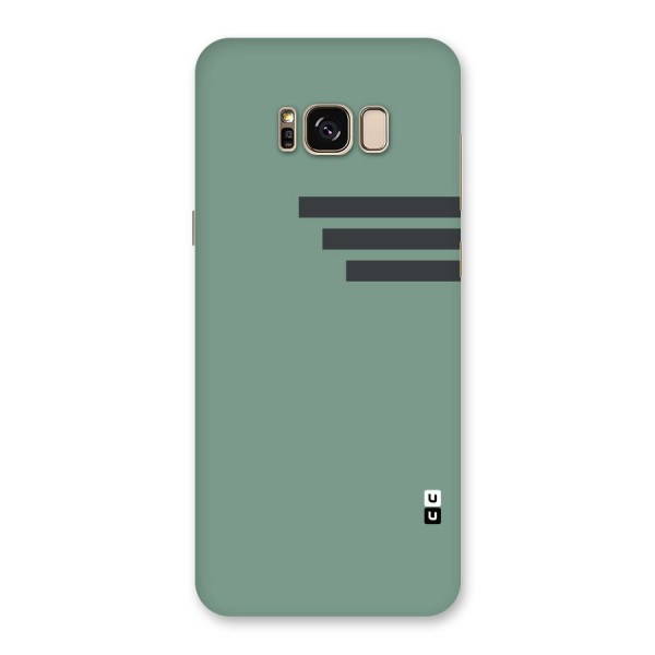 Solid Sports Stripe Back Case for Galaxy S8 Plus