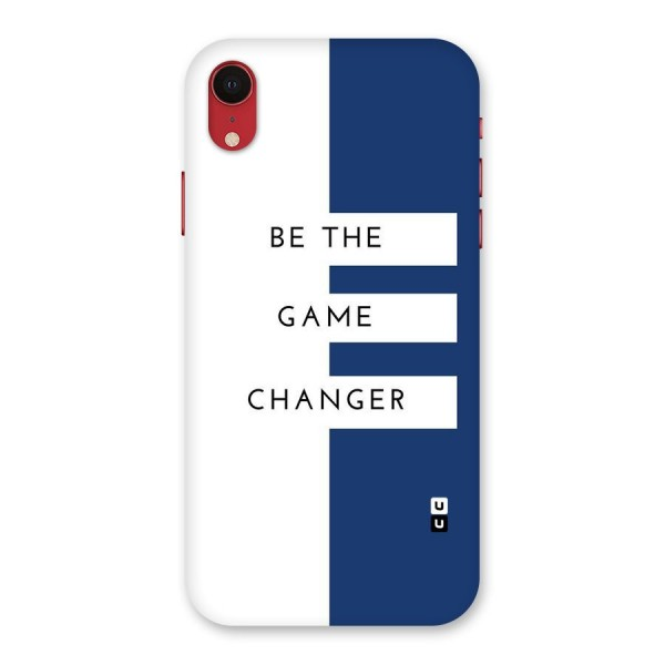 The Game Changer Back Case for iPhone XR