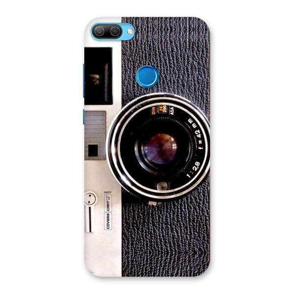 Vintage Camera Back Case for Honor 9N