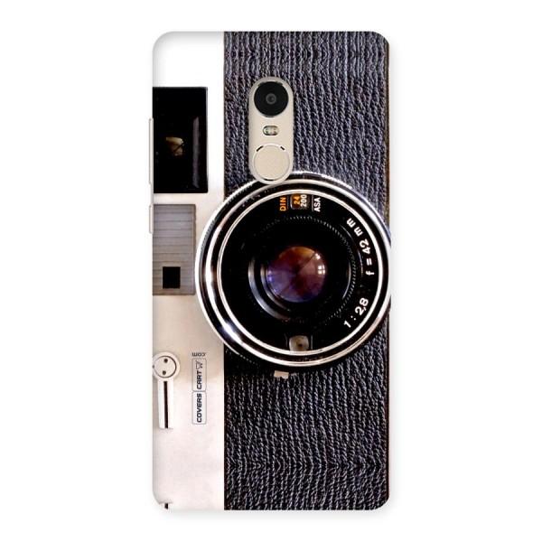 Vintage Camera Back Case for Xiaomi Redmi Note 4