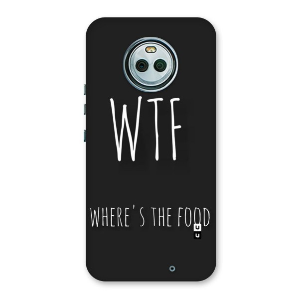 Where The Food Back Case for Moto X4