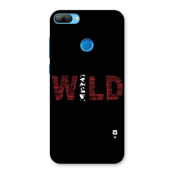 Wild Crazy Back Case for Honor 9N
