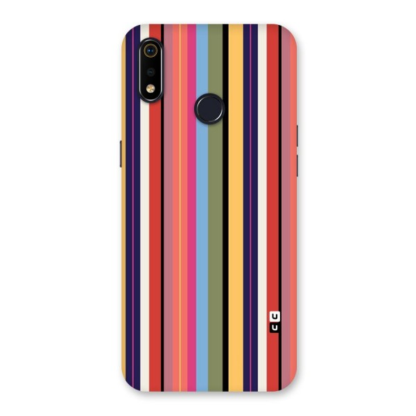 Wrapping Stripes Back Case for Realme 3i
