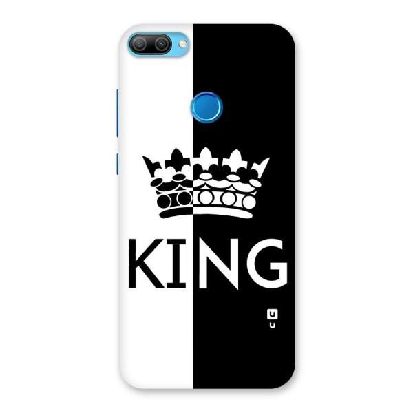 Aesthetic Crown King Back Case for Honor 9N