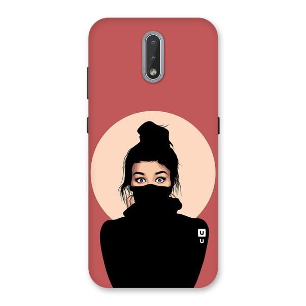 Aesthetic Digital Art Girl Back Case for Nokia 2.3