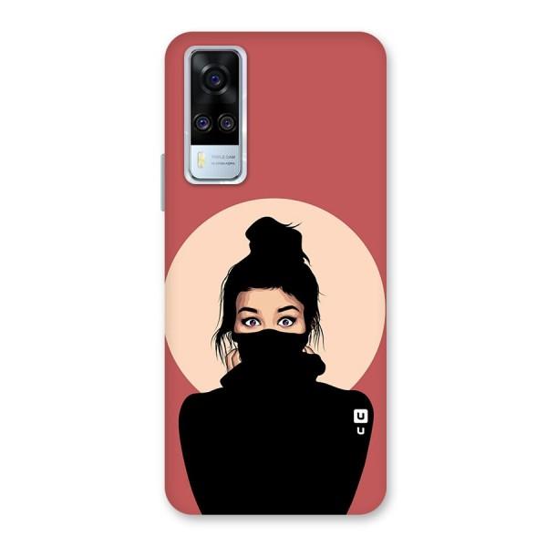 Aesthetic Digital Art Girl Back Case for Vivo Y51A