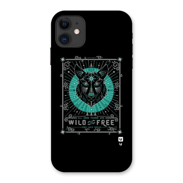 All Good Things Wild and Free Back Case for iPhone 11