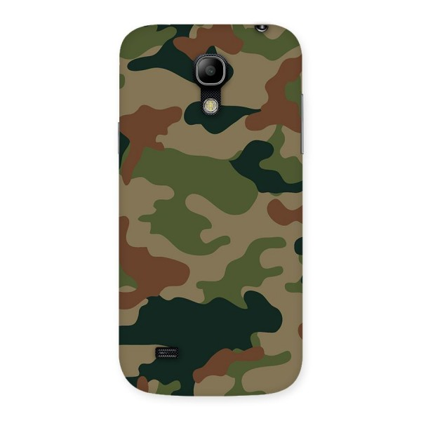 Army Camouflage Back Case for Galaxy S4 Mini