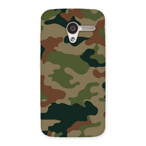 Army Camouflage Back Case for Moto X