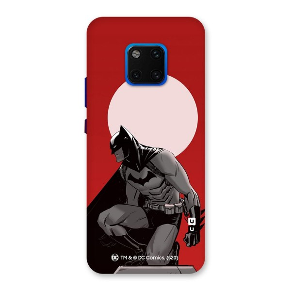Batman Moon Artwork Back Case for Huawei Mate 20 Pro