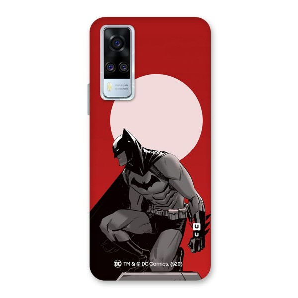 Batman Moon Artwork Back Case for Vivo Y51A