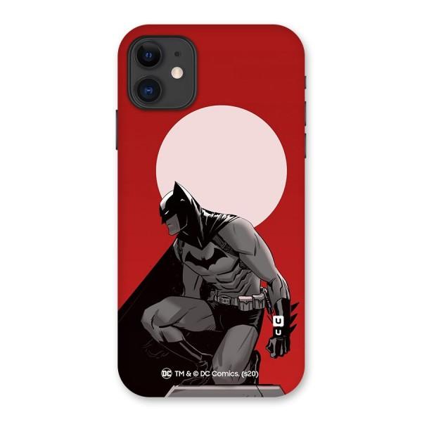 Batman Moon Artwork Back Case for iPhone 11