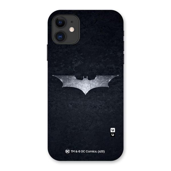 Batman Symbol Back Case for iPhone 11