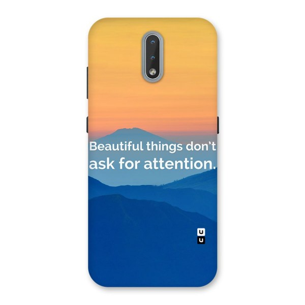 Beautiful Things Quote Back Case for Nokia 2.3