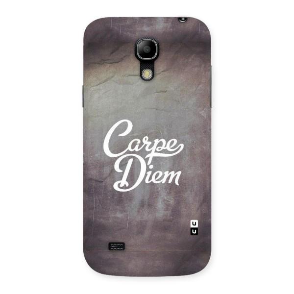 Carpe Diem Rugged Back Case for Galaxy S4 Mini