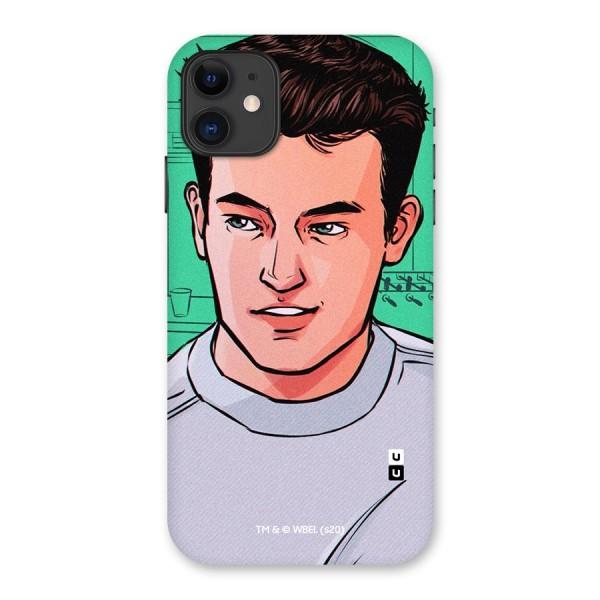 Chandler Bing Friends Illustration Back Case for iPhone 11