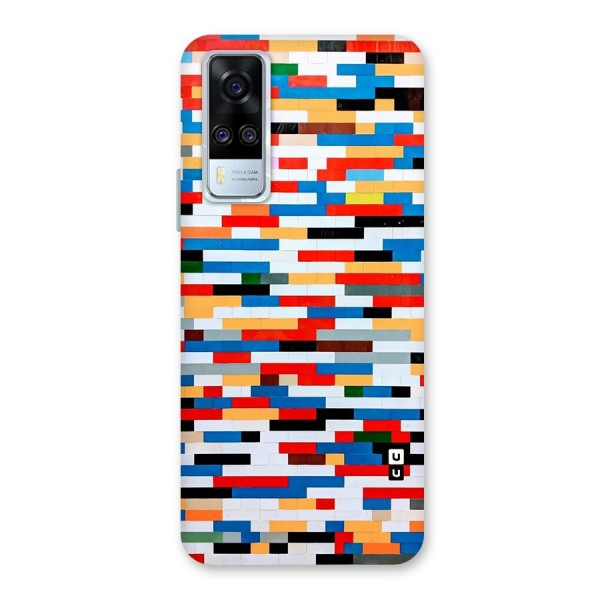 Cool Colors Collage Pattern Art Back Case for Vivo Y51A