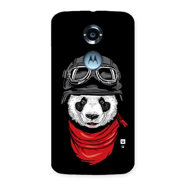 Cool Panda Soldier Art Back Case for Moto X 2nd Gen