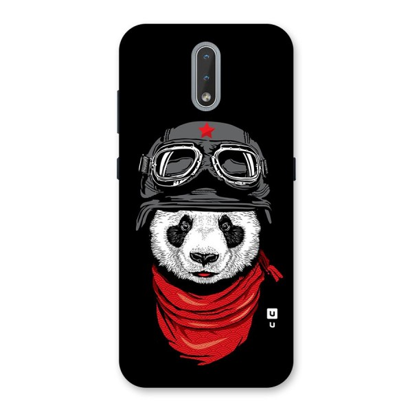 Cool Panda Soldier Art Back Case for Nokia 2.3