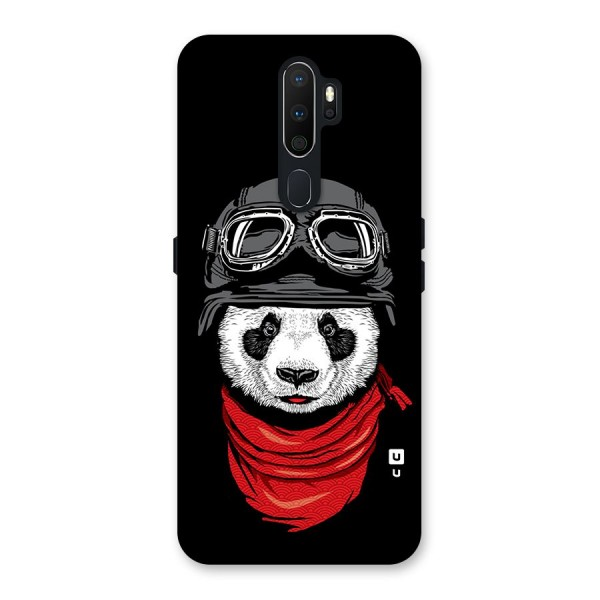 Cool Panda Soldier Art Back Case for Oppo A5 (2020)