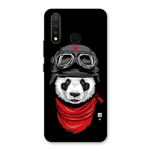 Cool Panda Soldier Art Back Case for Vivo U20