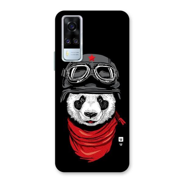 Cool Panda Soldier Art Back Case for Vivo Y51A