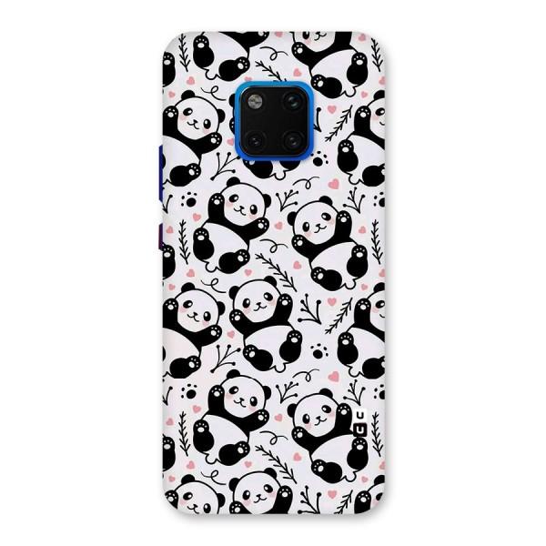 Cute Adorable Panda Pattern Back Case for Huawei Mate 20 Pro
