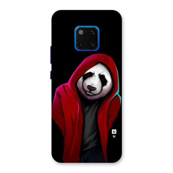 Cute Hoodie Panda Back Case for Huawei Mate 20 Pro