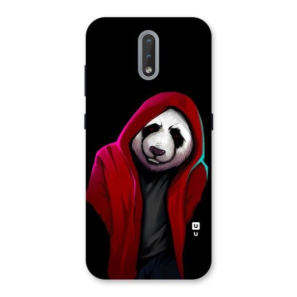 Cute Hoodie Panda Back Case for Nokia 2.3