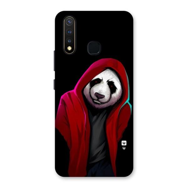 Cute Hoodie Panda Back Case for Vivo U20