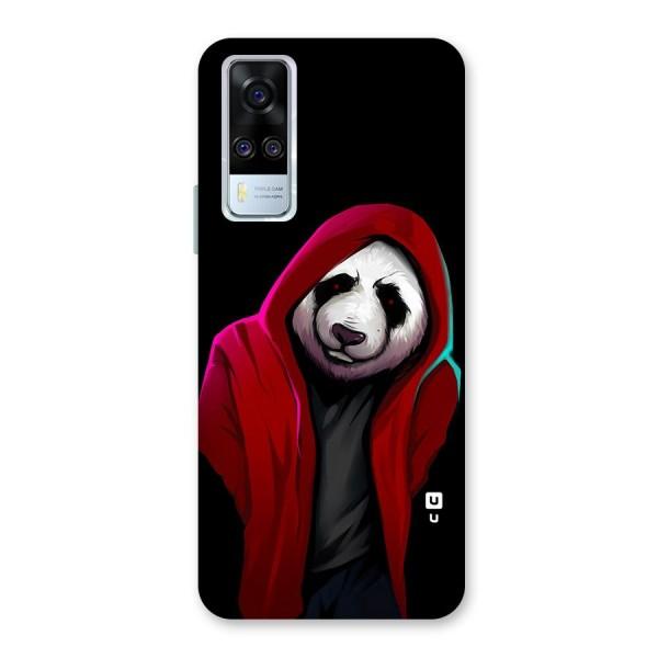 Cute Hoodie Panda Back Case for Vivo Y51A