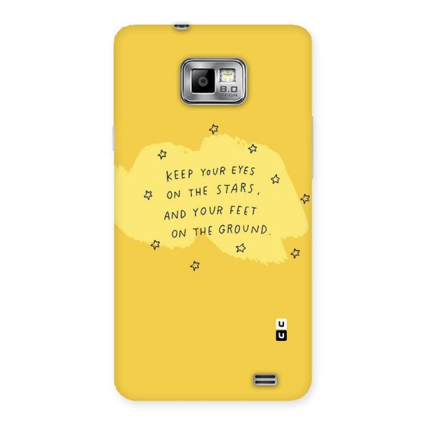 Eyes On Stars Back Case for Galaxy S2