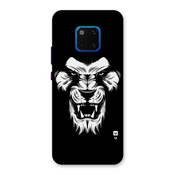 Fierce Lion Digital Art Back Case for Huawei Mate 20 Pro