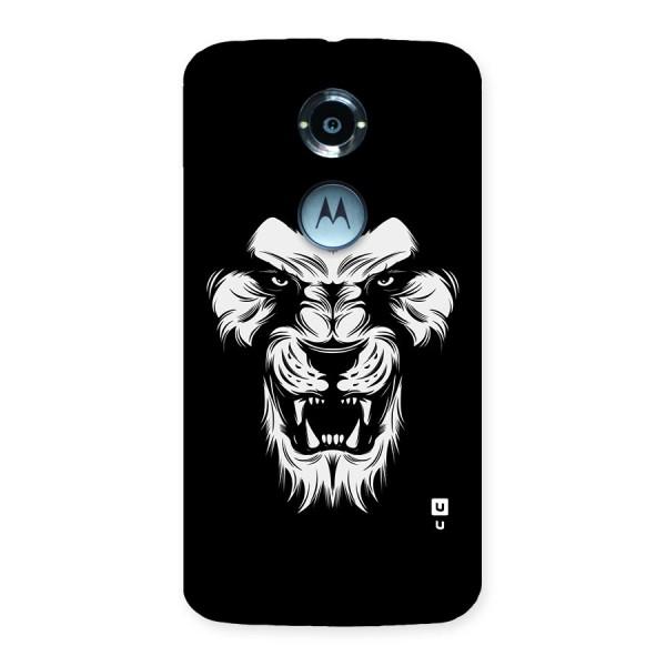 Fierce Lion Digital Art Back Case for Moto X 2nd Gen
