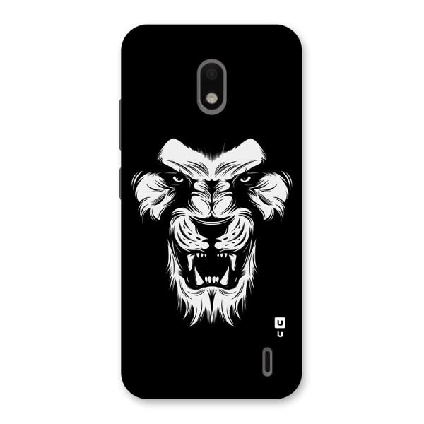 Fierce Lion Digital Art Back Case for Nokia 2.2