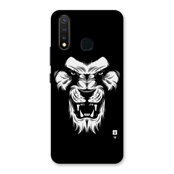 Fierce Lion Digital Art Back Case for Vivo U20