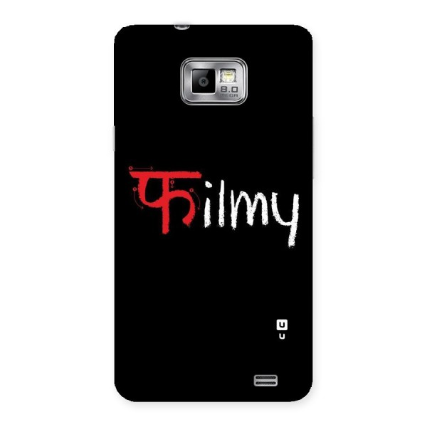 Filmy Back Case for Galaxy S2