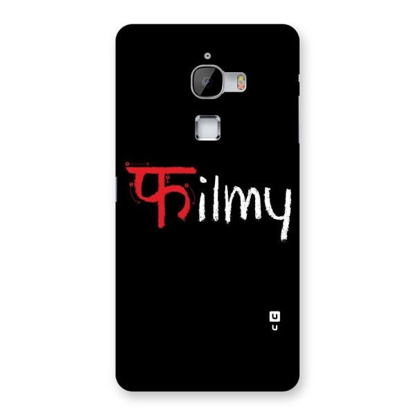 Filmy Back Case for LeTv Le Max