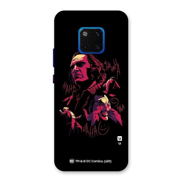 Joaquin Phoenix Joker Collage Art Back Case for Huawei Mate 20 Pro