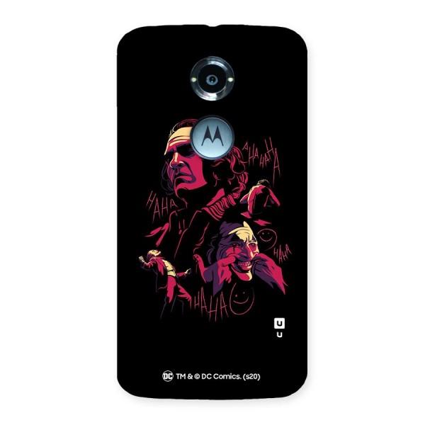 Joaquin Phoenix Joker Collage Art Back Case for Moto X 2nd Gen