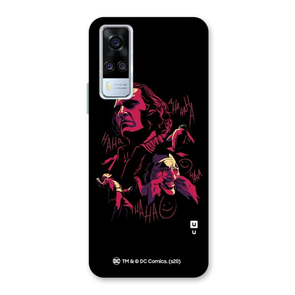 Joaquin Phoenix Joker Collage Art Back Case for Vivo Y51A