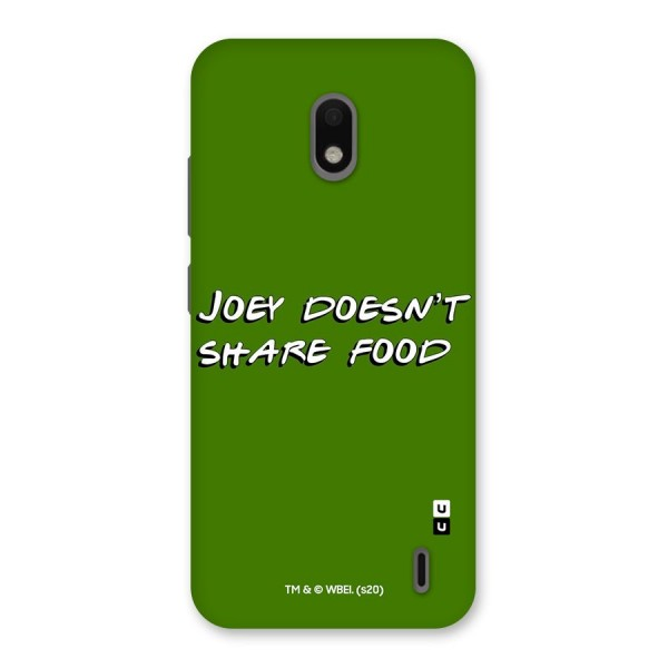 Joey Doesnt Share Food Friends Typography Back Case for Nokia 2.2