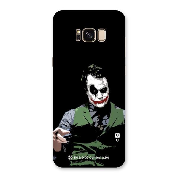 Joker Illustration Back Case for Galaxy S8 Plus