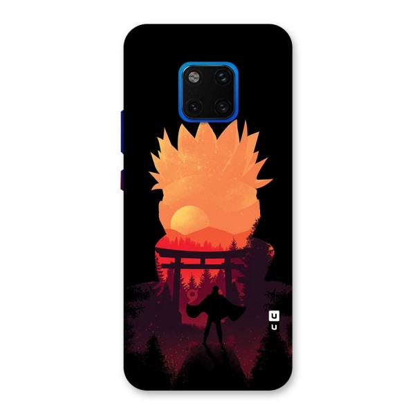 Naruto Anime Sunset Art Back Case for Huawei Mate 20 Pro