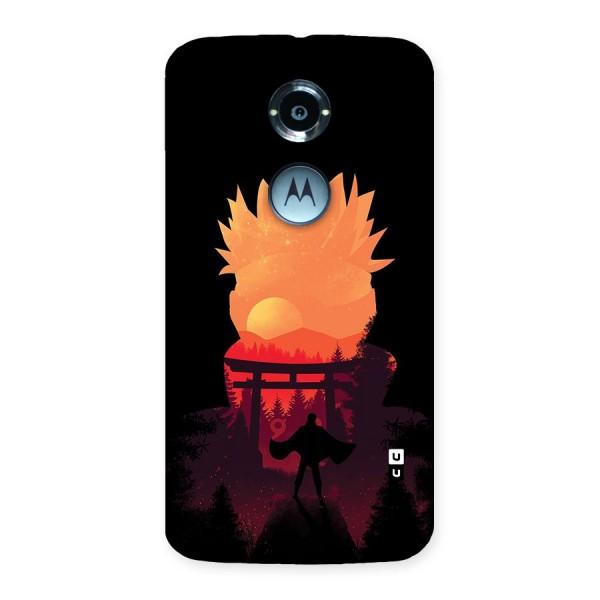 Naruto Anime Sunset Art Back Case for Moto X 2nd Gen