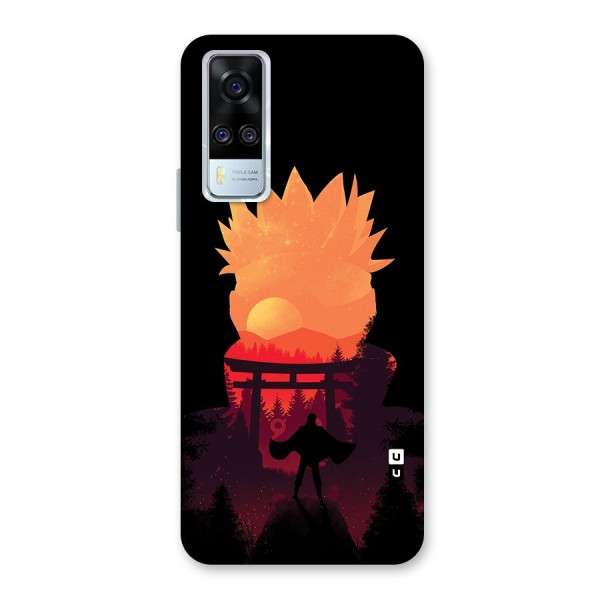 Naruto Anime Sunset Art Back Case for Vivo Y51A