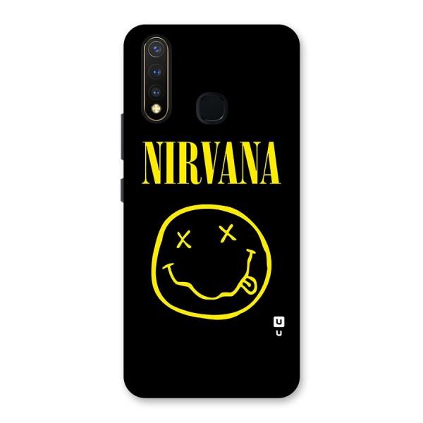 Nirvana Smiley Back Case for Vivo U20